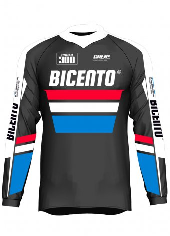 Mx jersey Comp nero