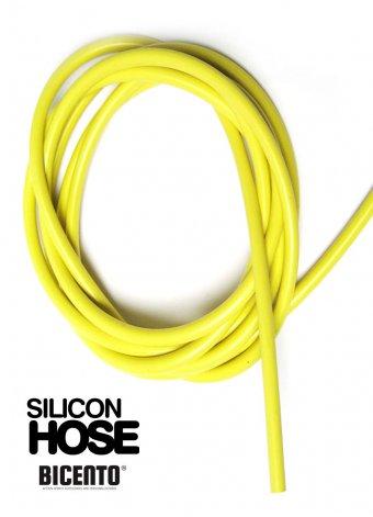 Tubo sfiato silicone giallo