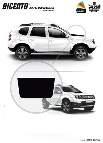Dacia Duster grafica per COFANO