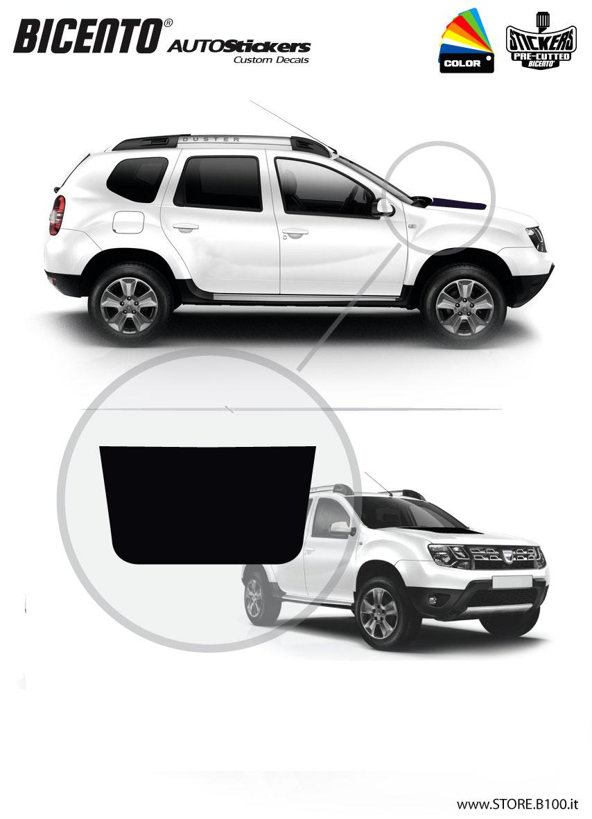 c2000e7949 Dacia Duster COFANO Stickers