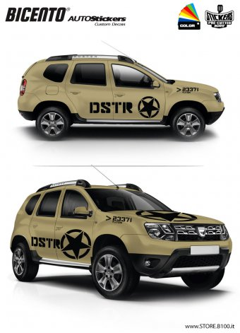 Dacia Duster grafica ARMY