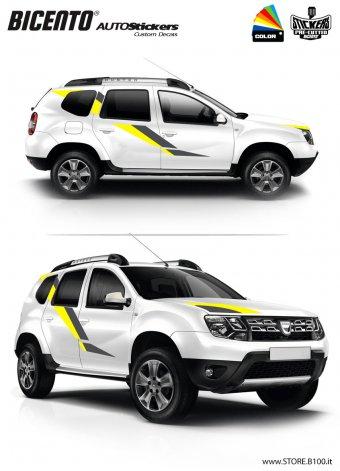 Dacia Duster grafica MONZA