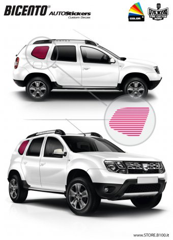 Dacia Duster grafica PRIVACY
