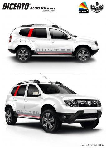 Dacia Duster grafica ROMA