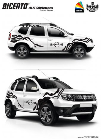 Dacia Duster grafica SAFARI