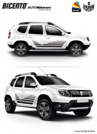 Dacia Duster grafica TORINO