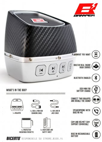 Braaper wireless speaker