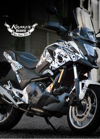 Grafica Kraken per Honda NCX750