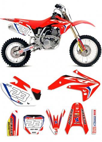 Grafica HO310 Honda minicross