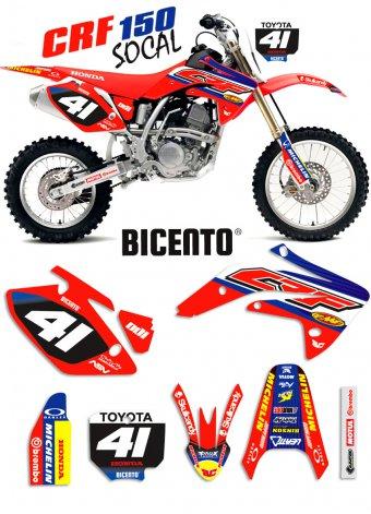 Grafica Socal Honda minicross