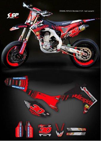 Grafica Lazzarini015 Honda