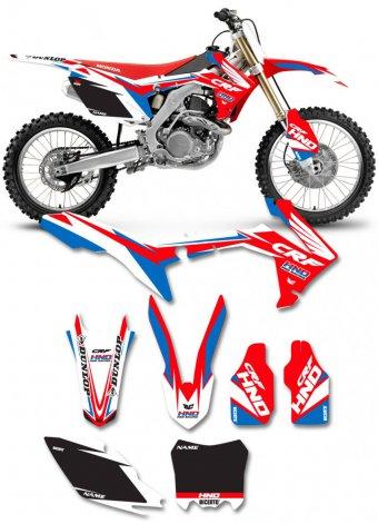 Grafica Linear_Rosso Honda