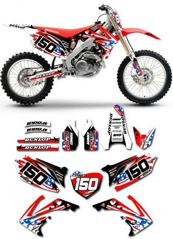 Grafica Usa Honda