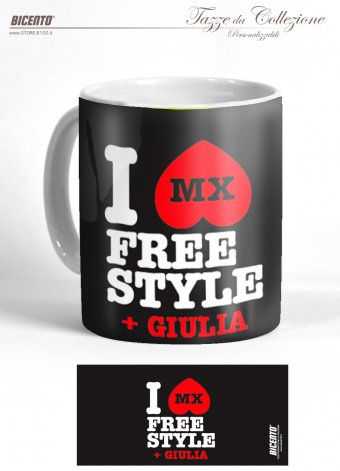 Tazza Love freestyle