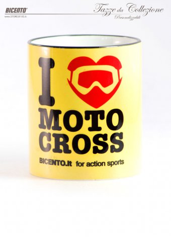 Tazza I love motocross