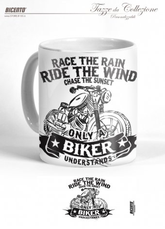 Tazza ride the wind white