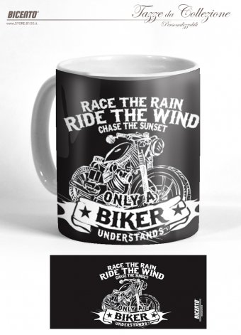Tazza ride the wind black