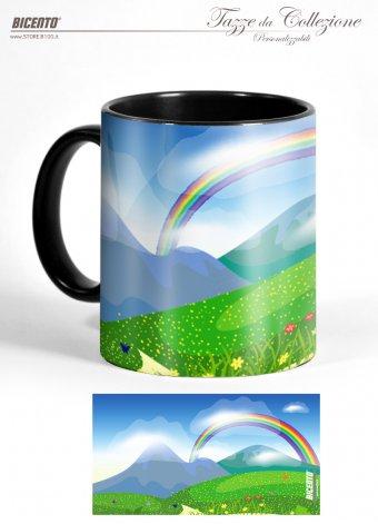 Tazza rainbow