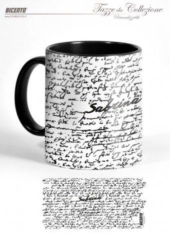Tazza scrittura