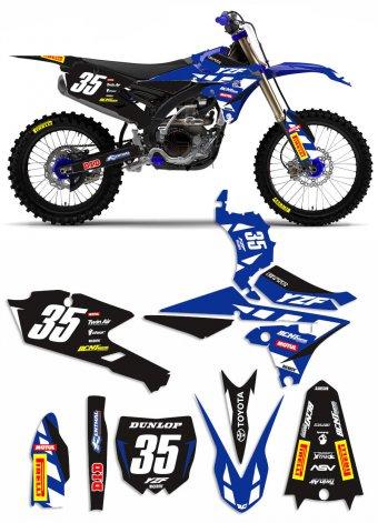 Grafica YA00 Yamaha