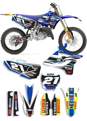 Grafica Rock Yamaha