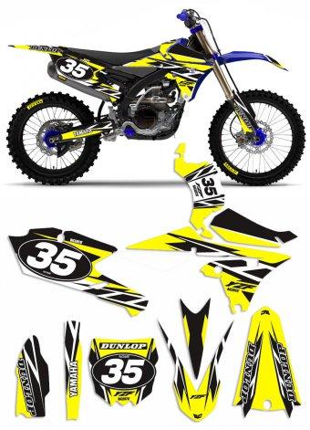 Grafica Trofeo Yamaha