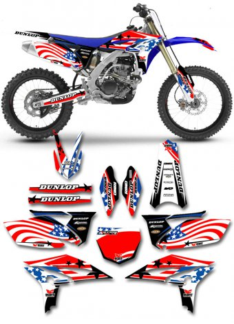 Grafica Usa Yamaha