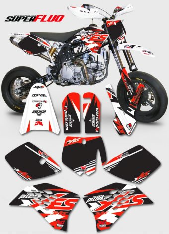 Grafica pitbike Yes014