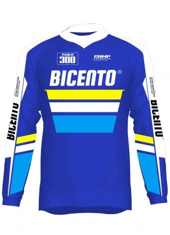 Mx jersey Comp blu
