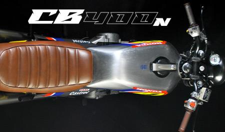 Honda CB 400 N custom by Bicento