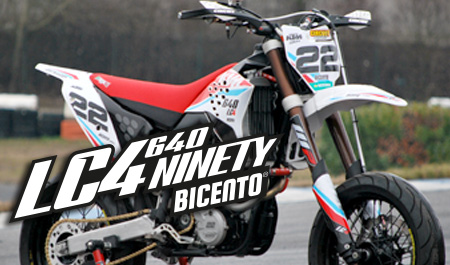 KTM LC4 640 restyled by BICENTO