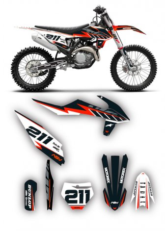 Grafica Ktm Flash