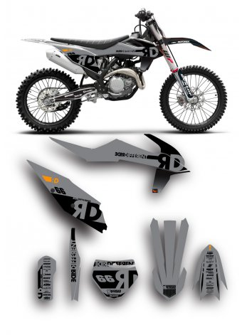 Grafica Ktm Ride different
