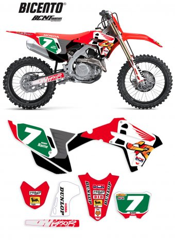 Grafica Honda back91