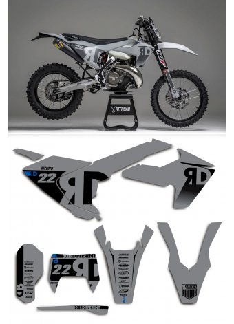Grafica Husqvarna Ride Different