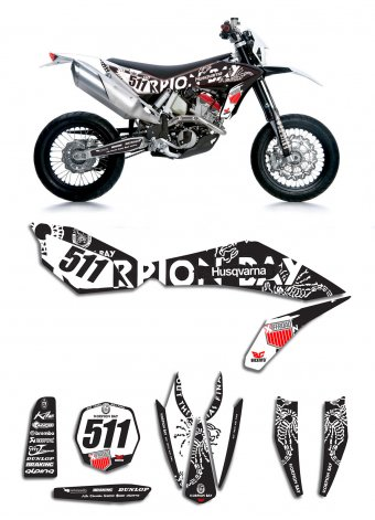 Grafica Husqvarna Scorpion Bay