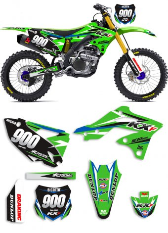 Grafica Simple Kawasaki