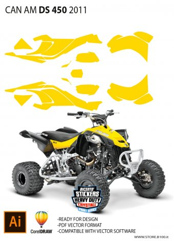 Dima Can-Am DS 450 Mx 2011