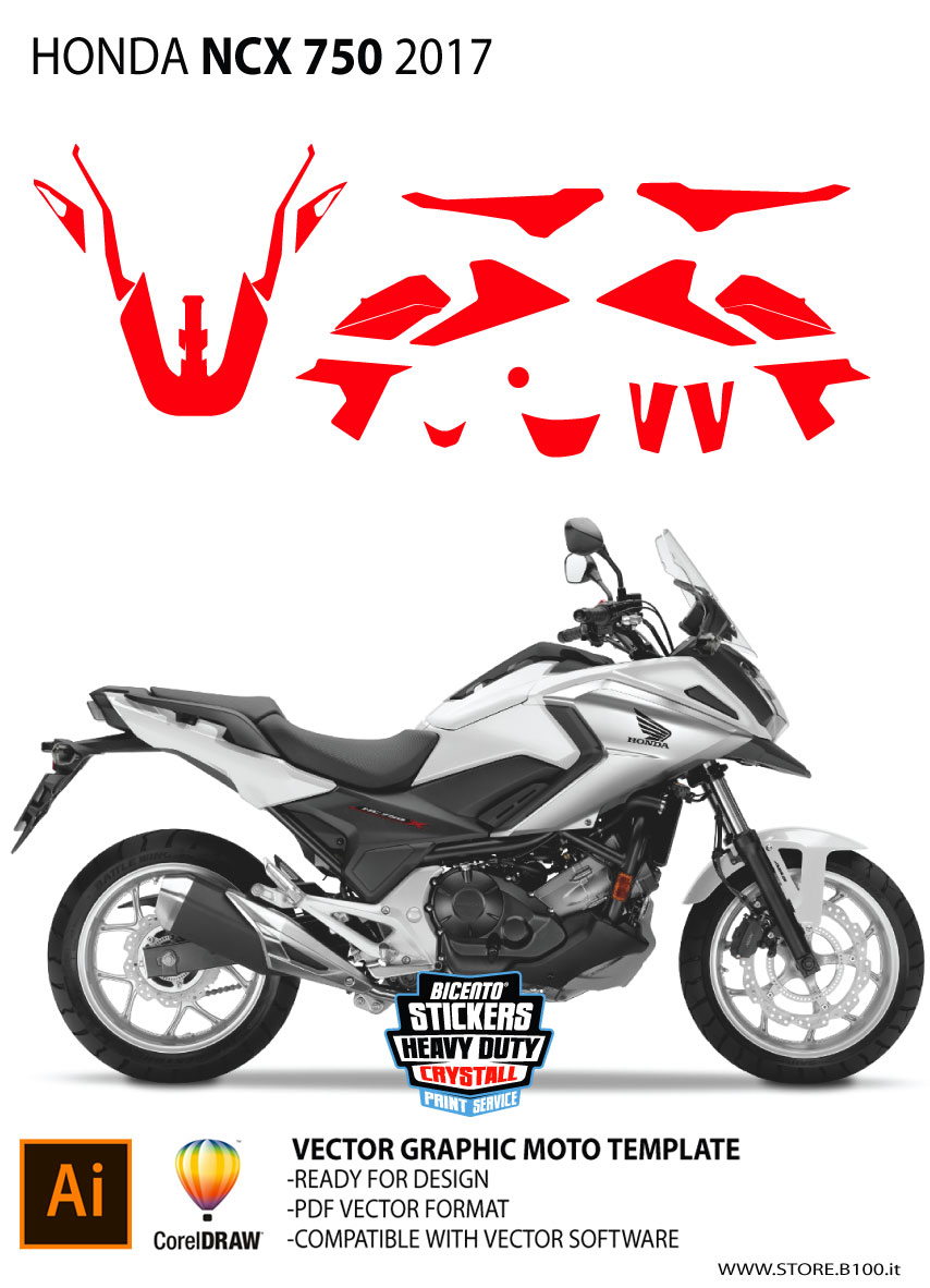 dima moto honda ncx 750 2017 dime moto honda naked e street store grafica. Black Bedroom Furniture Sets. Home Design Ideas