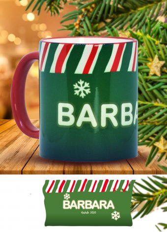 Tazza di Natale verde