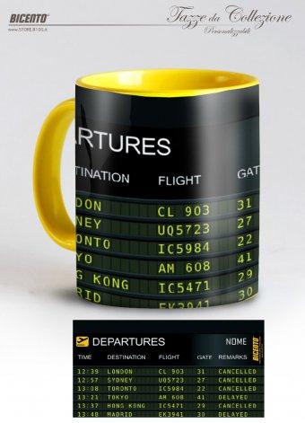 Tazza departure