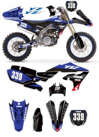 Grafica Yamaha YA206