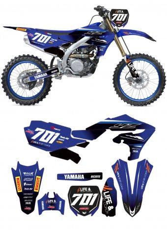 Grafica Yamaha YA252