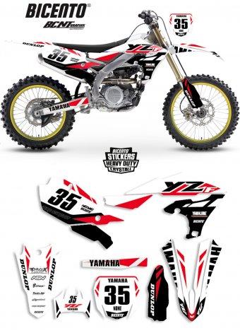 Grafica Yamaha YAsnow white