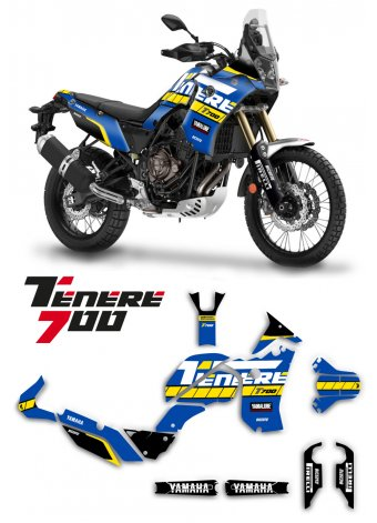 Yamaha Supertenere T700 2020 grafica special blue