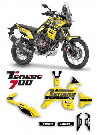 Grafica per Yamaha Tenerè T700 Special Yellow
