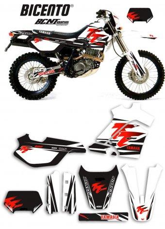 Grafica Yamaha TT600E 2000 Trofeo